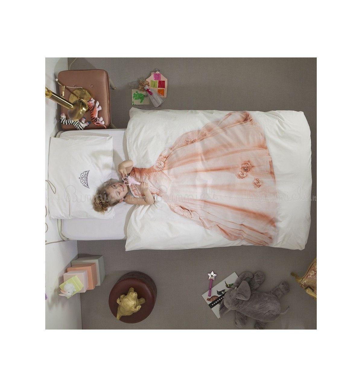 Snurk copripiumino principessa per letto singolo - Copripiumino letto singolo ...