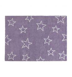 lorena canals - tappeto lavabile stelle (malva)