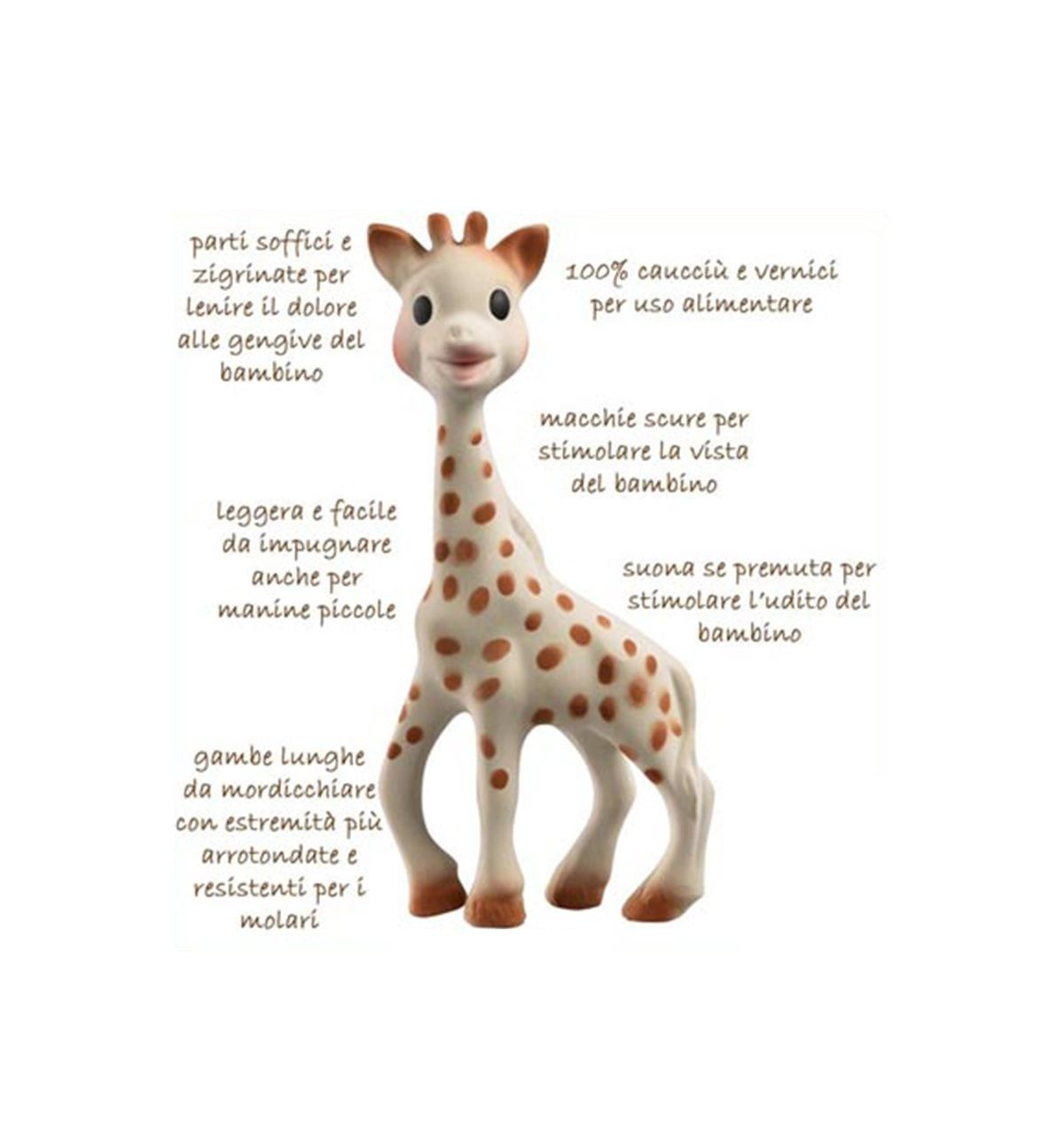 sophie la girafe the first sensory development toy. Black Bedroom Furniture Sets. Home Design Ideas