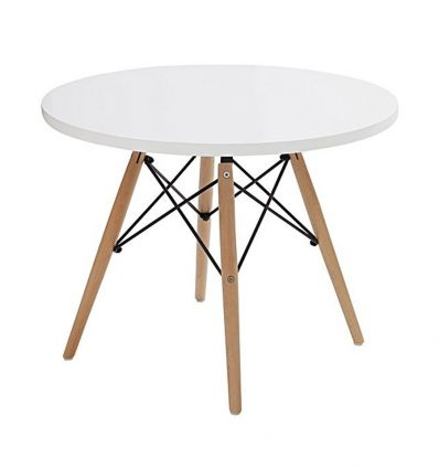 c&r eames - table for kids (white)