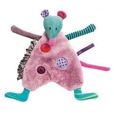 moulin roty - mouse baby comforter les jolis pas beaux