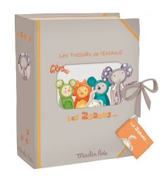 moulin roty - birth souvenir box les zazous