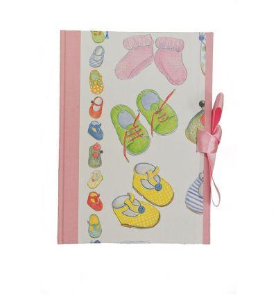 legatoria artistica dell'orso - diario del bebè