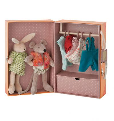 moulin roty - valigetta armadio le petit armoire