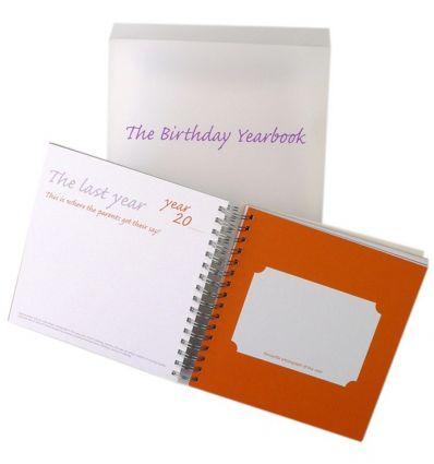 birthday journal book