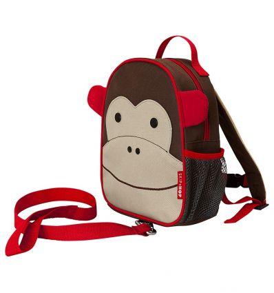 skip hop - mini zaino scimmia