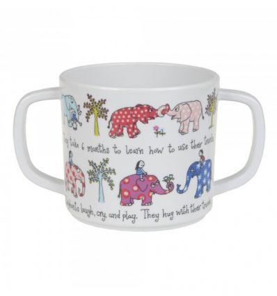 tyrrell katz - bicchiere con manici elefanti
