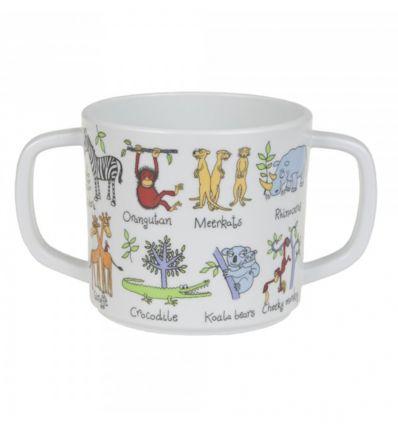 tyrrell katz - bicchiere con manici animali della giungla