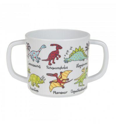 tyrrell katz - bicchiere con manici dinosauri