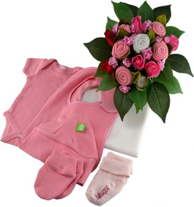 babuquee - baby clothes bouquet 0-3 months
