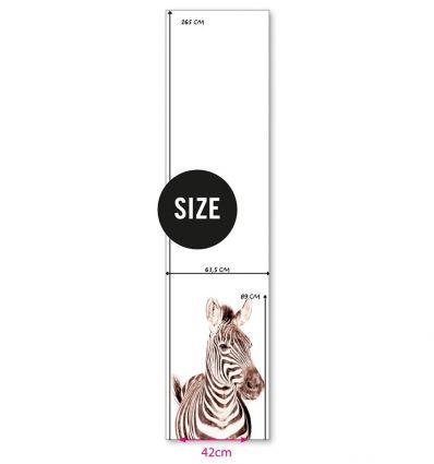 groovy magnets - carta da parati magnetica zebra
