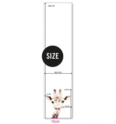 groovy magnets - magnet wallpaper giraffe