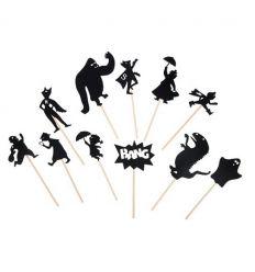 moulin roty - gioco delle ombre - supereroi