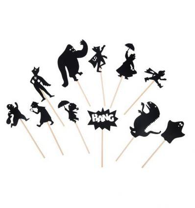 moulin roty - gioco delle ombre supereroi