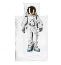 snurk - set copripiumino astronauta