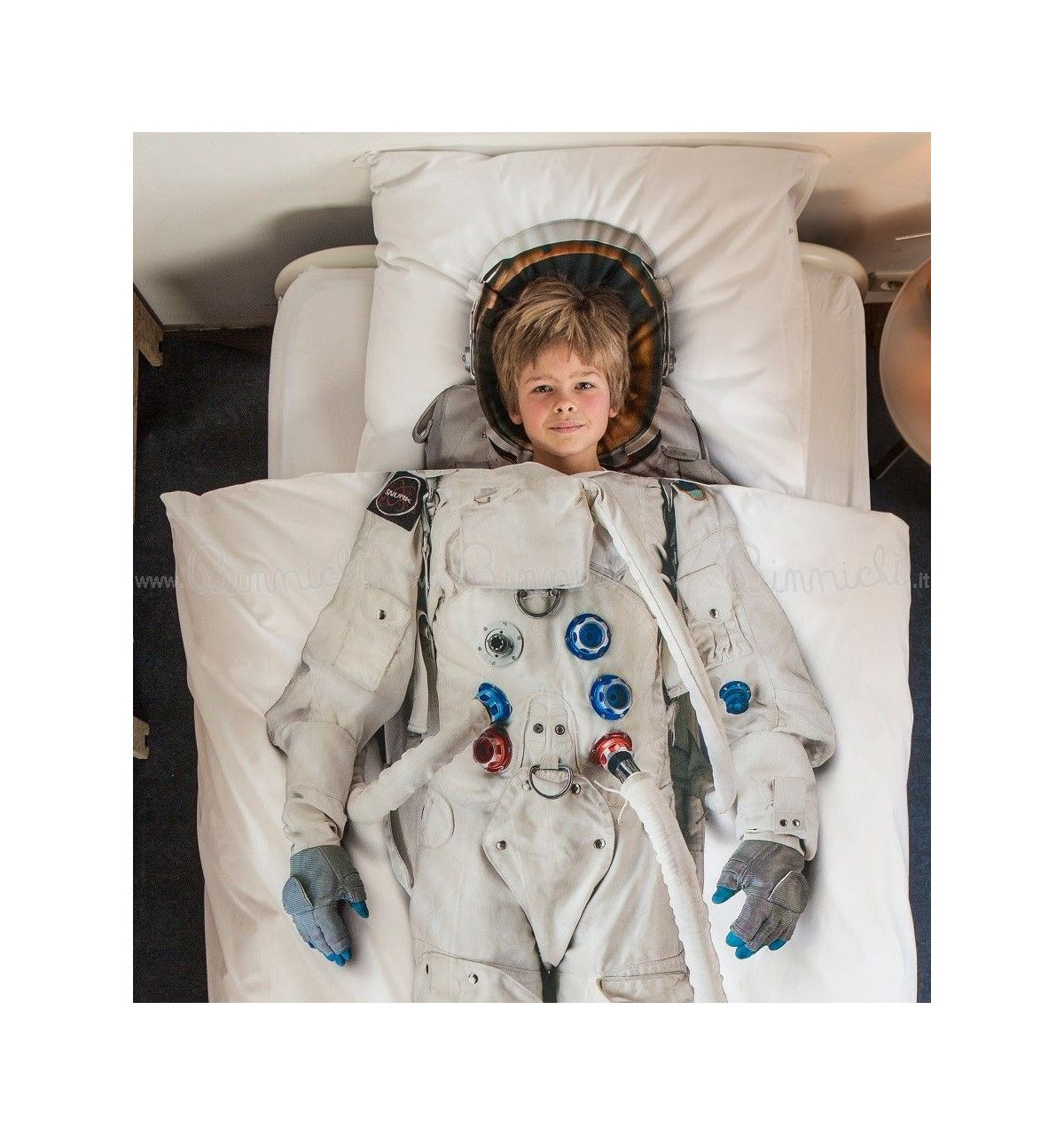 Snurk Astronaut duvet cover set for single bed