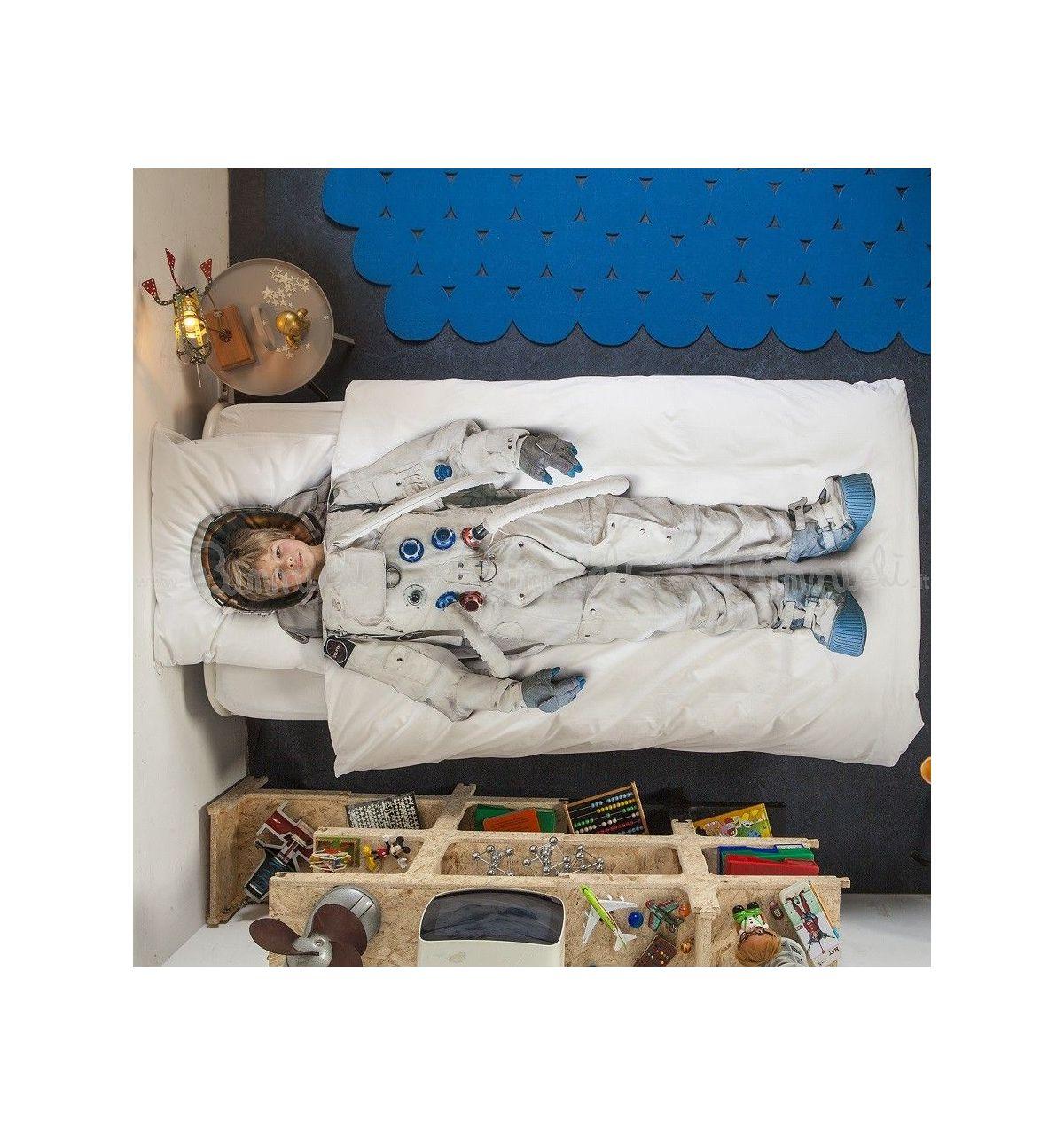 Snurk copripiumino astronauta per letto singolo - Copripiumino letto singolo ...