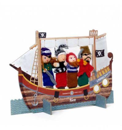 londji - burattini da dita pirati