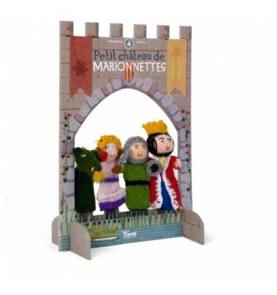 londji - finger puppets princess and knight