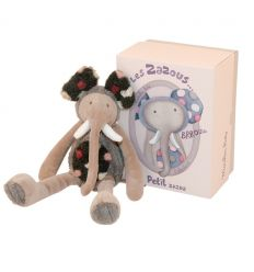 moulin roty - zazous brrouuu little elephant soft toy