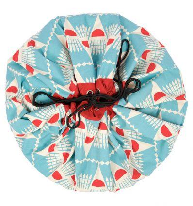 play&go - sacca portagiochi badminton