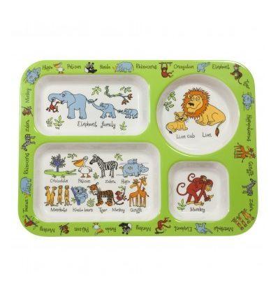 tyrrell katz - compartment tray jungle animals