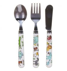 tyrrell katz - cutlery set jungle animals