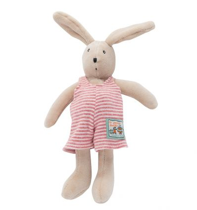 moulin roty - sylvain tiny rabbit soft toy la grande famille