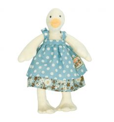 moulin roty - jeanne tiny duck soft toy la grande famille
