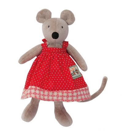 moulin roty - nini tiny mouse soft toy la grande famille