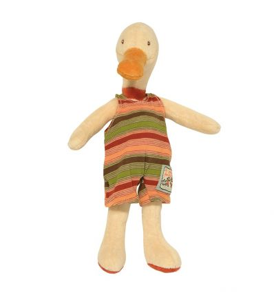 moulin roty - amédée tiny duck soft toy la grande famille