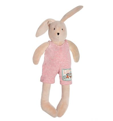 moulin roty - sylvain little rabbit soft toy la grande famille