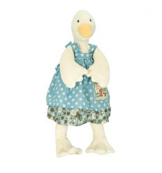 moulin roty - jeanne little duck soft toy la grande famille