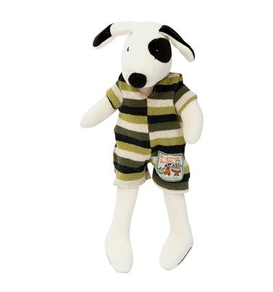 moulin roty - julius little dog soft toy la grande famille