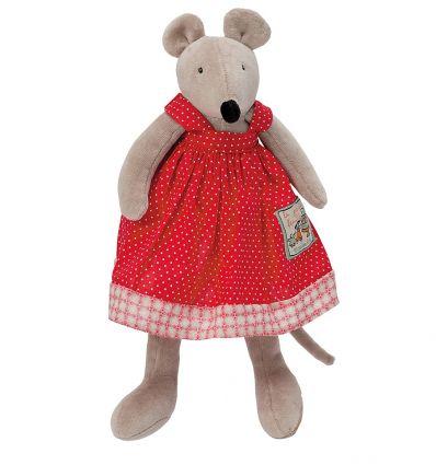 moulin roty - nini little mouse soft toy la grande famille