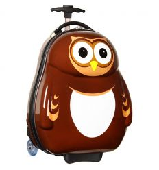 the cuties and pals - trolley case owl