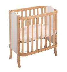 "hugs factory - convertible crib 3 in 1 ""manhattan"" (natural)"