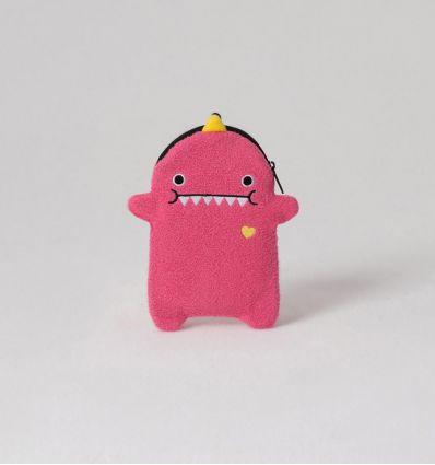 noodoll - tasca portaoggetti pink dino