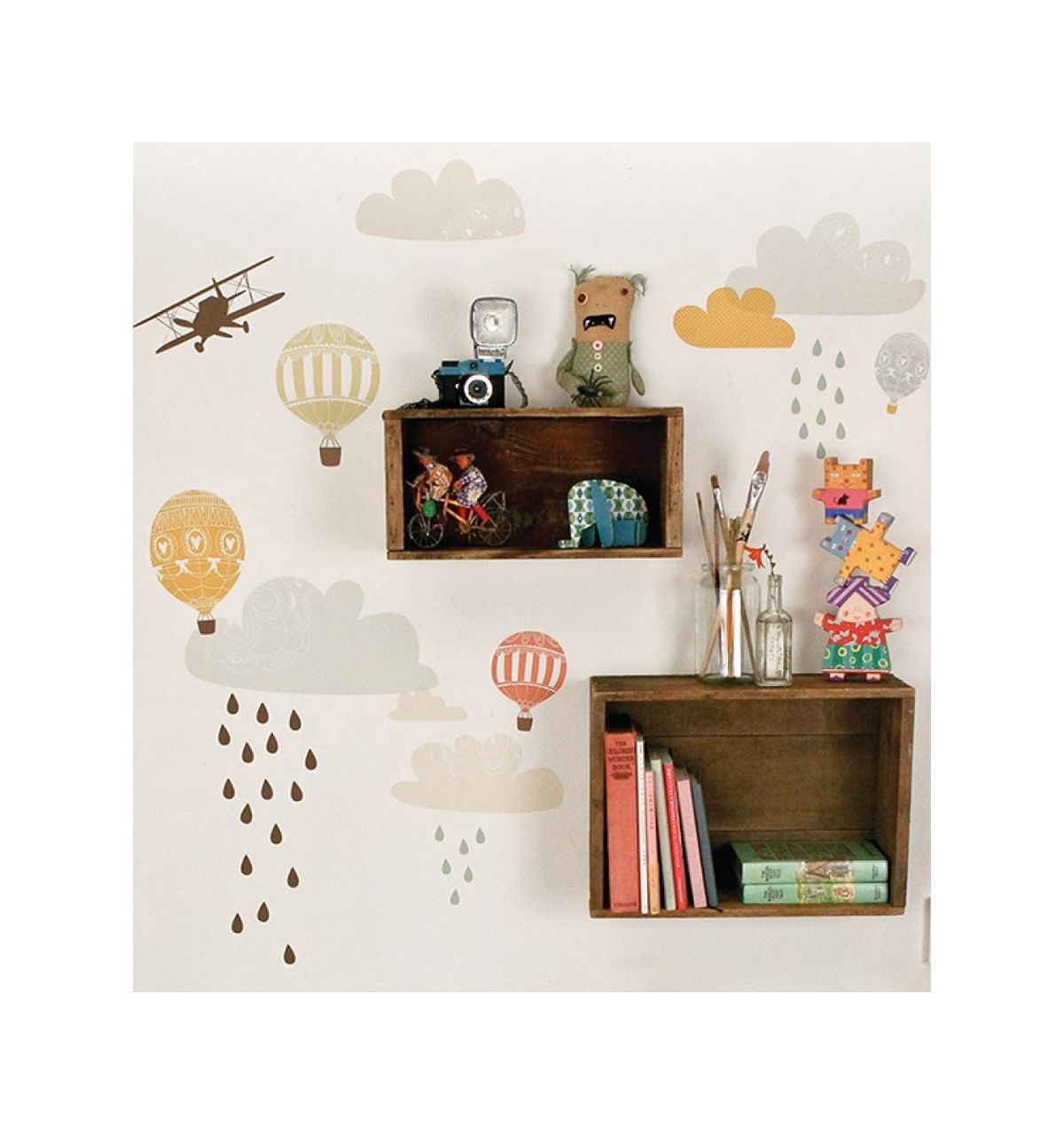 love mae fabric wall stickers up up and away love mae fabric wall stickers