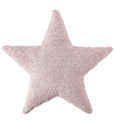 lorena canals - cuscino stella (rosa)