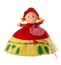 lilliputiens - reversible red ridding hood