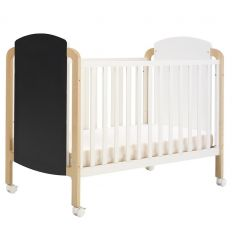 "hugs factory - transformable crib 2 in 1 ""williamsburg"""