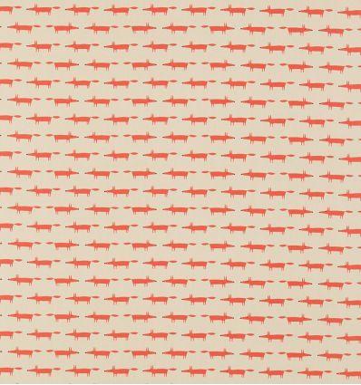 scion - fabric little fox (ginger)