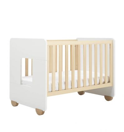 hugs factory - convertible crib 2 in 1 brooklyn