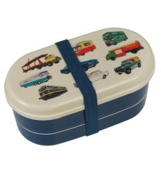 lunch box with cutlery vehicles