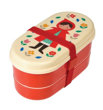lunch box with cutlery red riding hood