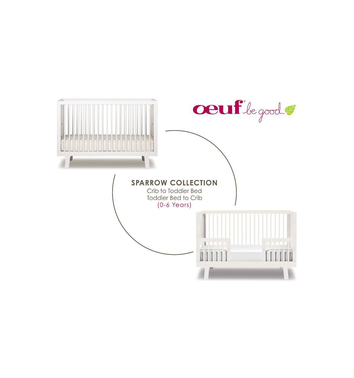 oeuf crib sparrow white