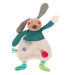 moulin roty - doudou coniglio les jolis pas beaux