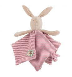 moulin roty - sylvain the rabbit baby comforter la grande famille