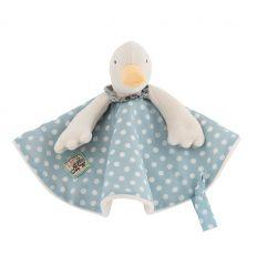 moulin roty - baby comforter jeanne the duck - la grande famille